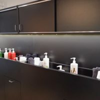 Hair Studio 1208 shampoo display